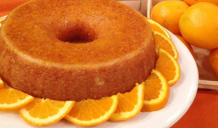 Bolo de laranja - Culinária