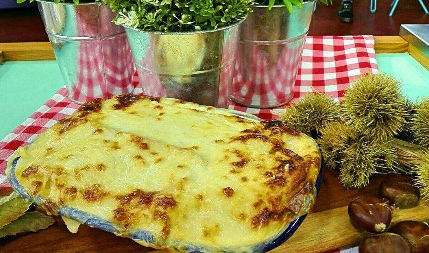 Quase lasanha de legumes - Culinária