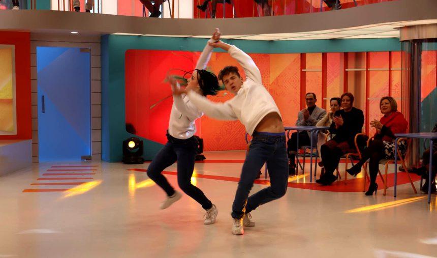 Leo&Bia Concorrentes do Got Talent Portugal na Praça da Alegria