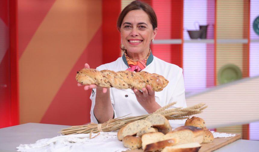 Pão para fazer com crianças - Chef Paula Peliteiro