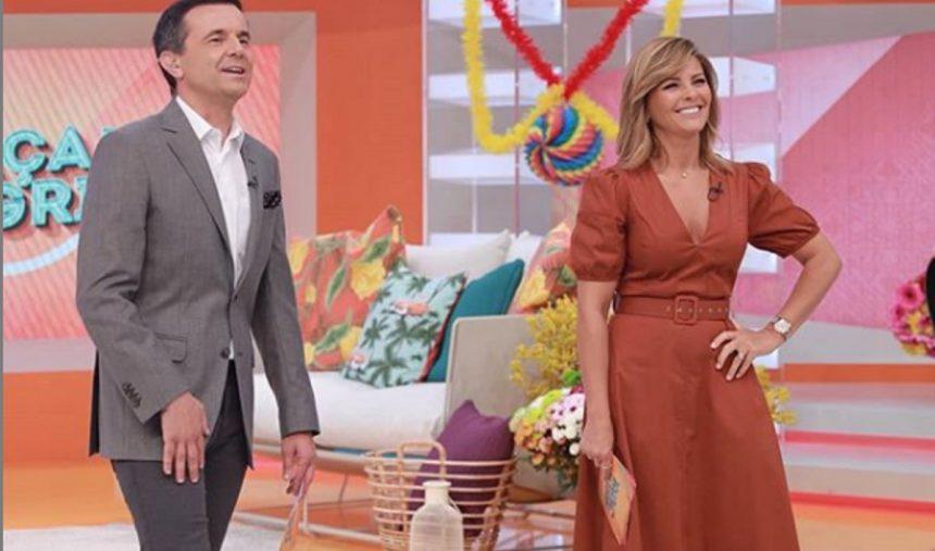 Sónia Araújo e Jorge Gabriel voltaram à Praça da Alegria!
