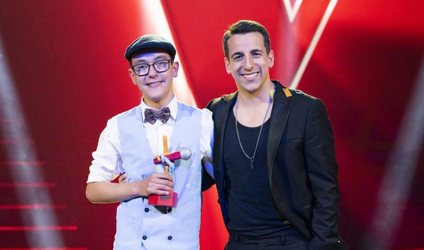 Simão Oliveira é o vencedor do The Voice Kids 2021