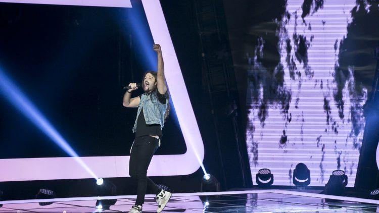 Alex Van True no The Voice Portugal