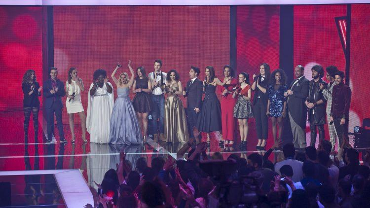 Primeira gala do The Voice Portugal