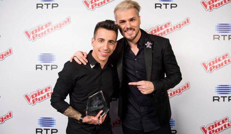 Fernando Daniel é o vencedor do The Voice Portugal