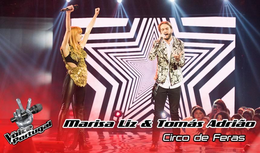 Tomás Adrião e Marisa Liz -