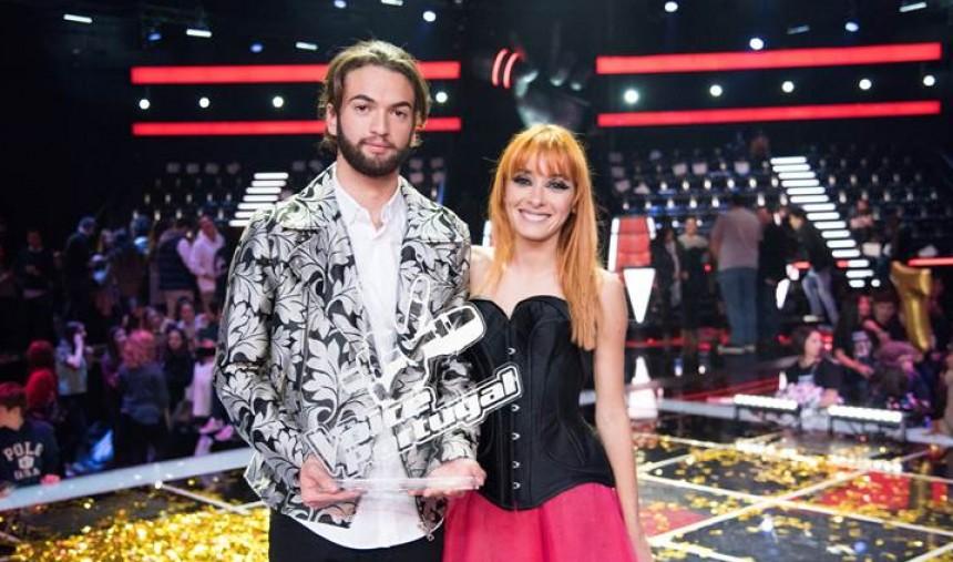 Tomás Adrião vence a 5.ª edição do The Voice Portugal