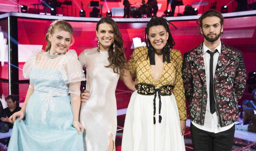 Os 4 finalistas do The Voice Portugal