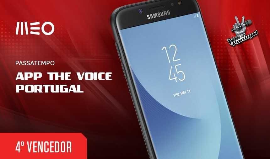 Passatempo App The Voice Portugal | Último vencedor