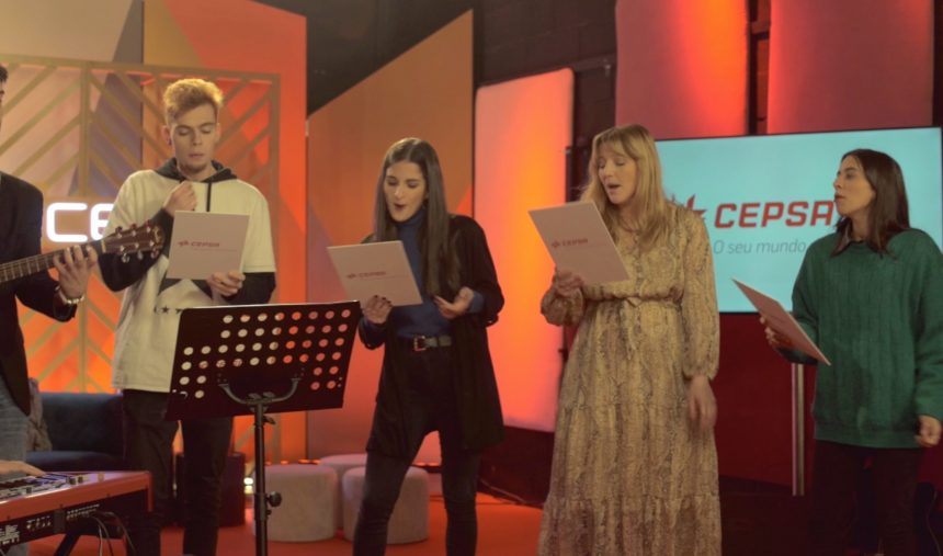 "Finalistas The Voice, ensaiam ""Por Ti"""