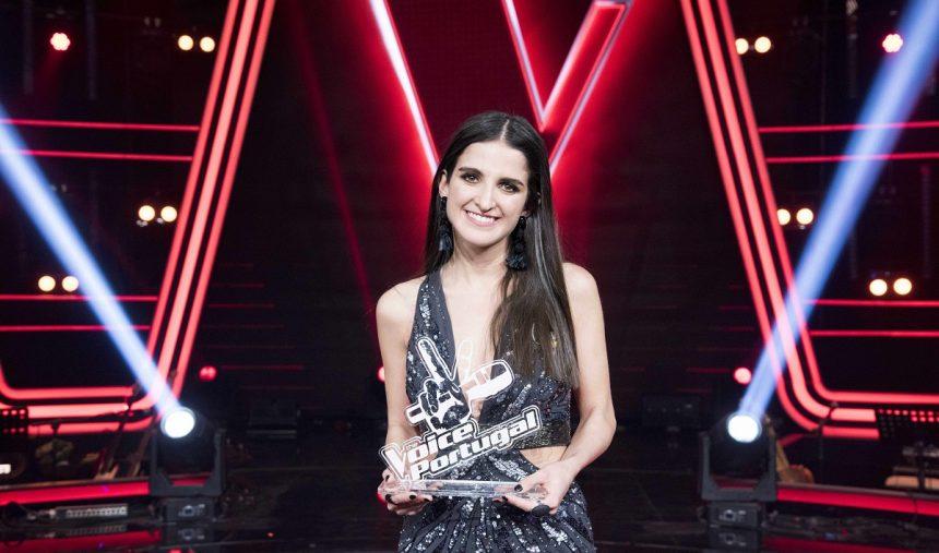 Rita Sanches é a vencedora do The Voice Portugal 2019