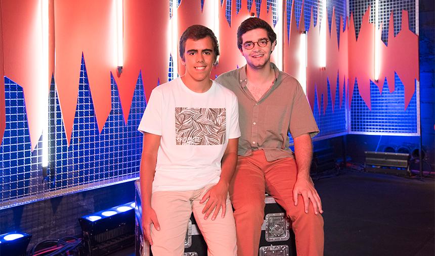 Miguel Costa e João Baião