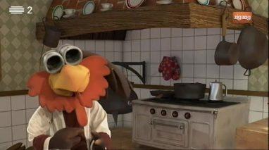 Na cozinha, portem-se na linha