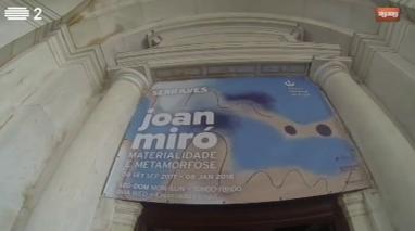 Repórter Mosca visita a exposição de Juan Miró no Palácio da Ajuda