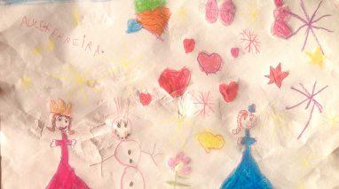 Alice Ferreira, 5 anos